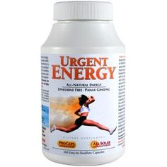 Urgent Energy 180 Capsules *** Check this awesome product by going to the link at the image.Note:It is affiliate link to Amazon.