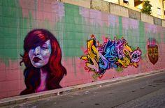 Caktus e Maria - Italian Street Artists - San Nicandro Garganico (IT) - 10/2014-  \*/  #caktusemaria #streetart