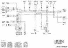 Diagrama de cableado de la motocicleta Luces de peligro de