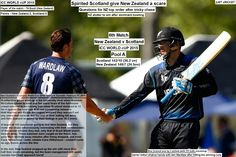 New Zealand v Scotland, World Cup 2015, Group A, Dunedin, February 17, 2015  Spirited Scotland give New Zealand a scare  Questions for NZ top order after tricky chase  NZ stutter to win after dominant bowling