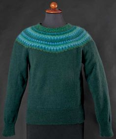 Green wood kofta/jumper