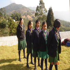 Uniforms Around the World-Nepal  Thinking Day