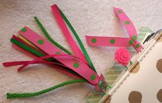cefaaa0ddd08 Pink Planner Clip, Green Paperclip, Tassel, Ribbon, Rose, Dot, Set,  Butterfly, Glittery, Hot Pink, Lime, Accessory, Decoration, Paper Clip
