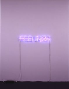 Title: Work No. 287 FEELINGS Artist: Martin Creed Year: 2004 #1stdibs #BritishArt