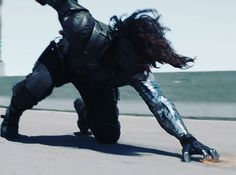 Winter Soldier grooving on the road