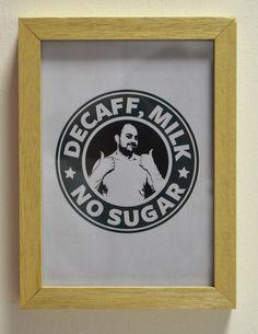 How Simon likes his coffee