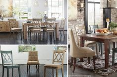 What a great set! Eclectic and rustic. Available at Top Drawer Furniture.