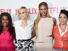 Star Tracks: Wednesday, August 12, 2015 | SHARING THE SPOTLIGHT | Orange Is the New Black stars Uzo Aduba, Taylor Schilling, Laverne Cox and Selenis Leyva attend a screening of their show in N.Y.C. on Tuesday, where they all dished on their love for new co-star Ruby Rose.