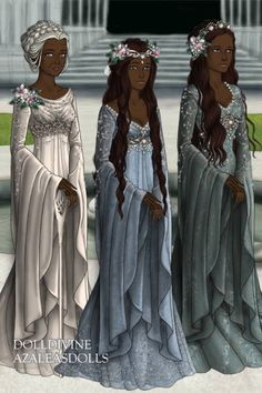 The Ithildrian royal family by rose-renee ~ Lord of the Rings & Hobbit Dress Up