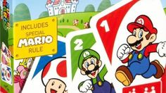 The massive international toy manufacturing company Mattel is planning to release a set of Super Mario-themed UNO cards in Japan next month.