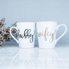 Cricut Wedding, Diy Wedding, Wedding Gifts, Dream Wedding, Wedding Day, Wedding Mugs, Wedding Bells, Bridal Shower Gifts, Bridal Gifts