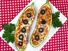 Low Carb Pizza Boats