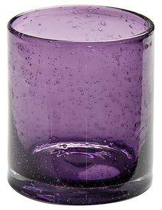 14 oz. Bubble Purple Drinking Glasses, Juice Glasses