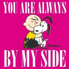 ♥ You are always by my side Charlie Brown & Snoopy ♥ Charlie Brown Cafe, Charlie Brown Christmas, Charlie Brown And Snoopy, Charlie Brown Characters, Cute Characters, Cartoon Characters, Peanuts Characters, Peanuts Cartoon, Peanuts Snoopy