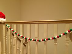 Elf garland , thanks lilyandmitch loved making my garland, very Christmassy! X