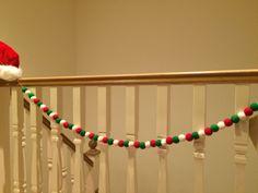 Elf garland , thanks lilyandmitch loved making my garland, very Christmassy! X