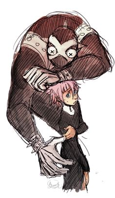 """blunoriispoop: """"another quick doodle wanted to draw crona after the previous pic u o u """""""