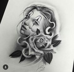 black and white sugar skull girl tattoo Chicano Tattoos, Chicano Art, Graffiti Tattoo, Tattoo Sketches, Tattoo Drawings, Tattoo Studio, Rose Tattoos, Girl Tattoos, Sugar Skull Girl Tattoo