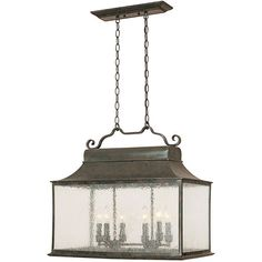 Add class to the appearance of your home with this stunning Flemish outdoor wall lantern. Its seedy glass provides a unique effect when lit.