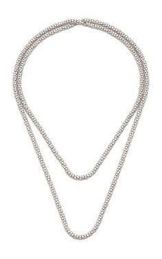 Coexist 18K Gold, Onyx And Diamond Necklace by Noush Jewelry | Moda Operandi Om Necklace, Fine Jewelry, Women Jewelry, Jewelry Design, Designer Jewelry, White Gold Diamonds, Designing Women, Jewelry Collection, 18k Gold