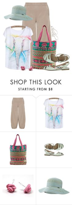 """Outdoorsy"" by shuchiu ❤ liked on Polyvore featuring Kekoo, Chloé, Outdoor Research and summerhat"