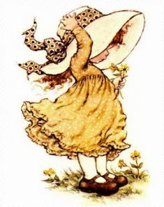 Immagini Sara Kay e Holly Hobbie Sarah Key, Holly Hobbie, Decoupage Vintage, Cute Illustration, Vintage Pictures, Cute Drawings, Images, Sketches, Animation