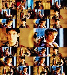 One of my favorite scenes. Merlin trying to say goodbye to Arthur without Arthur knowing that Merlin is about to sacrifice himself for Arthur.
