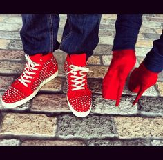 His & Her's Louboutins..