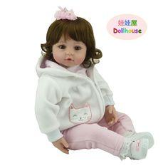 "96.53$  Buy now - http://ali3je.worldwells.pw/go.php?t=32767843915 - ""22"""" vinyl adora Lifelike sexy toddler Baby Bonecas girl doll house bebe reborn menina de silicone christmas toys for children"""