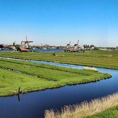 Les moulins de Zaan #Nederlands #hollande #PaysBas #windmill #Moulins #holidays #vacances
