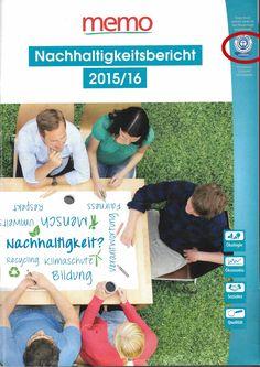 Der #Nachhaltigkeitsbericht 2015/ 16 von der #memo_AG erhält als erstes Printmedium seiner Art den #Blauen #Engel: | The #sustainability report 2015/ 16 receives the blue angel as the first #print #medium of its kind: http://on.fb.me/1LAu0xo