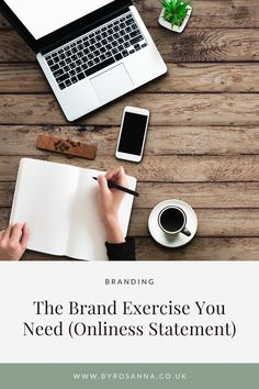 For anyone currently building a brand, or any small business owner, do the 'Onliness Statement' exercise. It's a great way to tap into the core message of your brand, and find your positioning statement | #brandingtips #brandtips #smallbusinesstips #smallbiztips Branding Design, Finding Yourself, Exercise, Ejercicio, Excercise, Work Outs, Corporate Design, Identity Branding, Workout