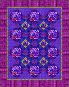 Purple Delight Quilt pattern