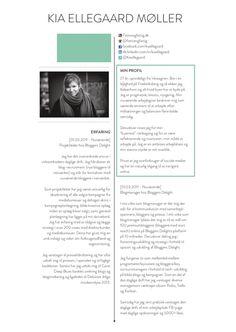 Skabelon til ansøgning | Gratis skabeloner til Word | Jobansøgning | Pinterest | Skabeloner