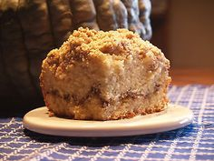 2 teaspoon ground cinnamon 1/4 cup butter, melted Instructions: 1. Blend sugar and butter in mixing bowl. Add eggs and extract. Stir in flour, baking powder, salt and milk. Pour half of the batter into a greased 9x9 baking pan. 2. In second bowl mix streusel topping ingredients . Pour half the streusel mixture on the cake batter in the pan. Top with