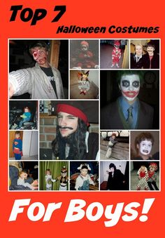 SIMPLY THE BEST Top 7 Halloween Costumes for Boys, Top Halloween Costumes, Halloween Costumes for Boys.  #BoyHalloweenCostumes  Boy Halloween Costumes, DIY halloween Costumes http://stillblondeafteralltheseyears.com/2012/10/halloween-giving-top-seven-halloween-costumes-for-boys/