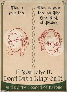 Advice from Middle Earth