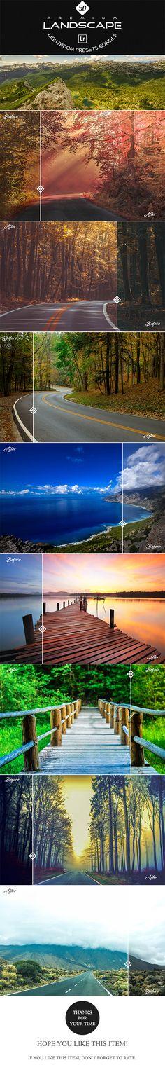 Premium Landscape Lightroom Presets