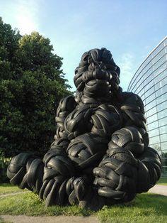 Tire Gorilla – Helsinki, Finland  - Atlas Obscura