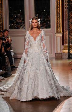 Zuhair Murad en la Alta Costura de París: vestido de novia