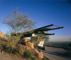 Yoder Doornbos house - Camelback - Architect Michael Johnson