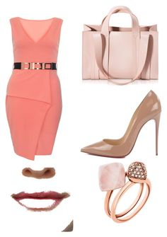 """""""Untitled #6"""" by sanela-avdic-mutapcic ❤ liked on Polyvore featuring Dorothy Perkins, Christian Louboutin, Corto Moltedo and Michael Kors"""