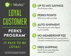You know what is SO AWESOME about being a Loyal Customer?! I logged into my husbands account and BAM!! ❇59 PERK POINTS!!!❇  WHY?! Because after 6 months of being a loyal, you get $50 OF FREE PRODUCT!!   SAY WHAT!? YES. That's right. Any PRODUCT-FOR FREEEEE!!  When 12 months comes along, BOOM!! $120 in FREE PRODUCT!!  ✋SAY IT ISN'T SO!!!  We have so many different, all natural, amazing products!! Would you give them a try for that free product?! If so, message me and we can see what will work…