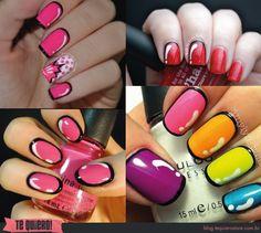New trend alert!!! Pop art nails! My inspiration: Andy Warhol!
