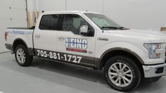 Vehicle Graphics for our neighbour - Heino Sales & Service