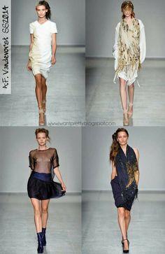 I want pretty: Paris Fashion Week Spring Summer 2014- Primavera-Verano 2014-.F Vandevorst