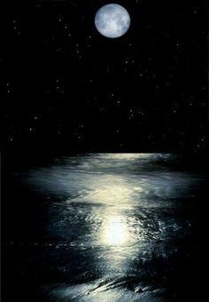 Full blue moon tonight