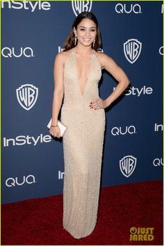 Vanessa Hudgens - InStyle Golden Globes Party 2014 | vanessa hudgens instyle golden globes party 2014 02 - Photo