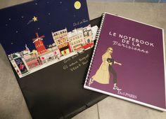 """Un grand """"Merci"""" ' à """"do it in Paris' pour cette super carte de vœux 2017 et la Notebook de la parisienne. 😘"""