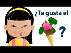 "Do You Like Broccoli Ice Cream? is an original (and very silly) food song from Super Simple Learning created for teaching how to express food likes and dislikes, and asking and answering ""Do you like _____? Kindergarten Songs, Preschool Music, Preschool Activities, Silly Songs, Fun Songs, Kids Songs, Preschool Spanish, Learning Spanish, Elementary Spanish"